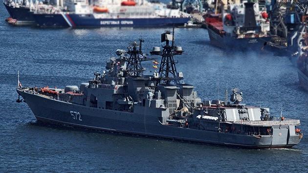 Maniobras de Rusia y Japón en el Pacífico