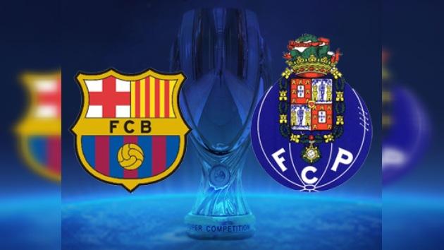 Minuto a minuto: Supercopa de Europa, Barcelona vs. Oporto