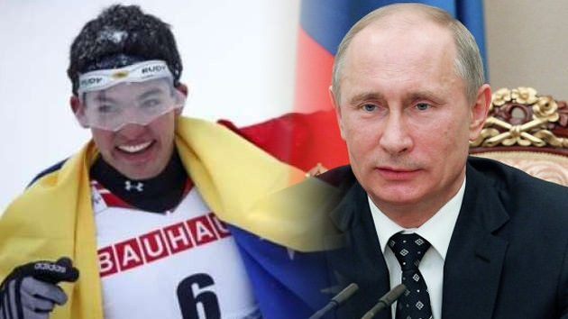 Esquiador venezolano pide a Putin que le ayude a participar en los Juegos Olímpicos