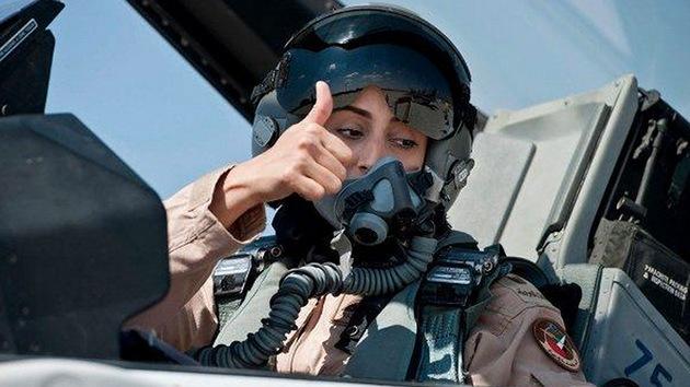 La familia de la piloto árabe la repudia por bombardear al Estado Islámico en Siria