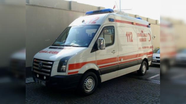 Seis rusos heridos en un accidente de tráfico en Turquía