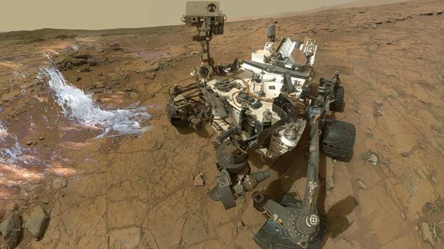 Curiosity ha hallado agua en Marte