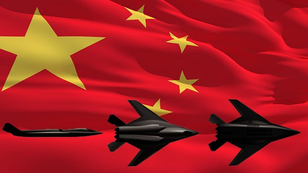La sombra de un súper caza sobrevuela China