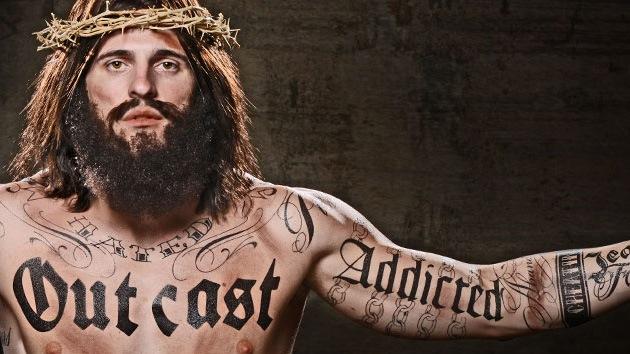 Una campaña publicitaria con un Jesucristo tatuado levanta ampollas en EE.UU.