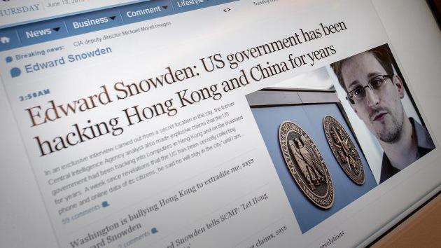 """""""Medios de EE.UU. demonizan a Snowden tratando de distorsionar su imagen"""""""