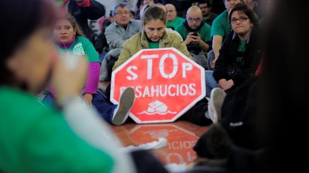 El desahucio se cobra otra víctima en España
