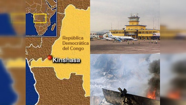 32 pasajeros mueren al estrellarse un avión de la ONU en Kinshasa