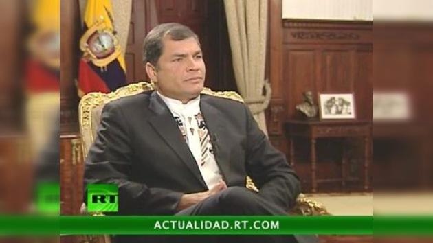 """Rafael Correa a RT: """"América Latina no vive una época de cambios, sino un cambio de época"""""""