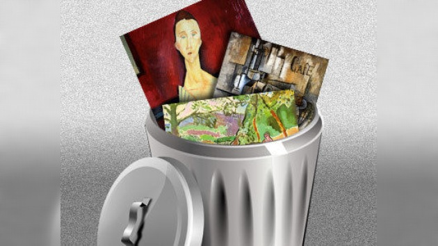Un Picasso y un Matisse...¡a la basura!