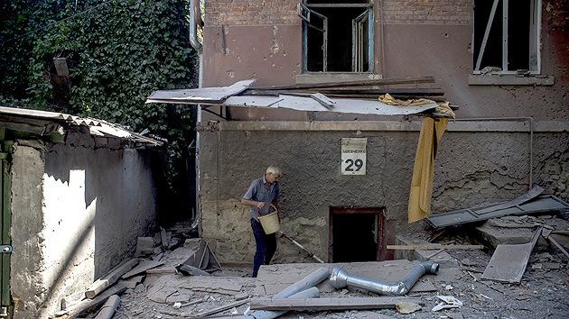 Los bombardeos en Lugansk dejan numerosas víctimas
