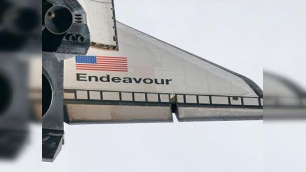 Transbordador Endeavour prepara su regreso a la Tierra