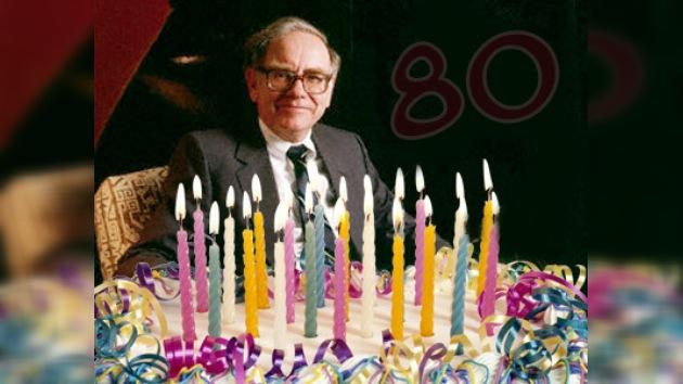 El gurú de las finanzas Warren Buffett celebra su 80 aniversario