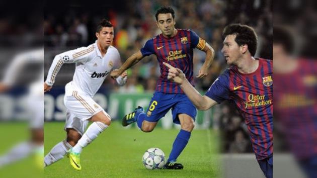Messi, Ronaldo y Xavi, finalistas al Balón de Oro 2011