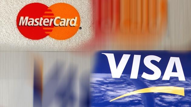 Visa y MasterCard 'pagan' las sanciones de EE.UU. contra Rusia