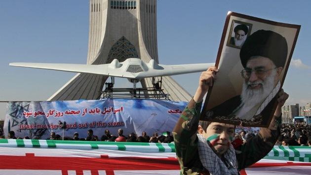 Irán, a punto de empezar la producción de copias del 'drone' estadounidense