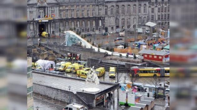 Lanzan granadas contra una parada de autobús en Bélgica