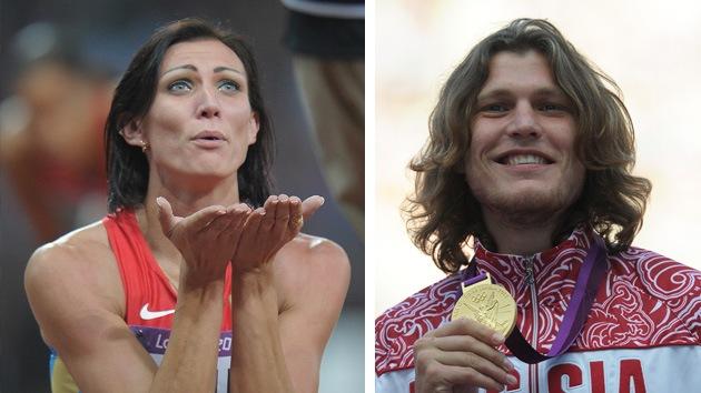 Dos atletas rusos, elegidos los mejores de Europa en julio