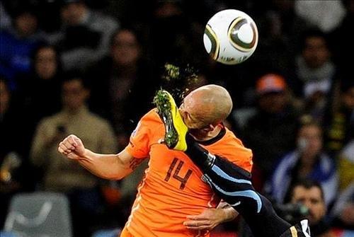 Lo mejor del Uruguay - Holanda en imágenes