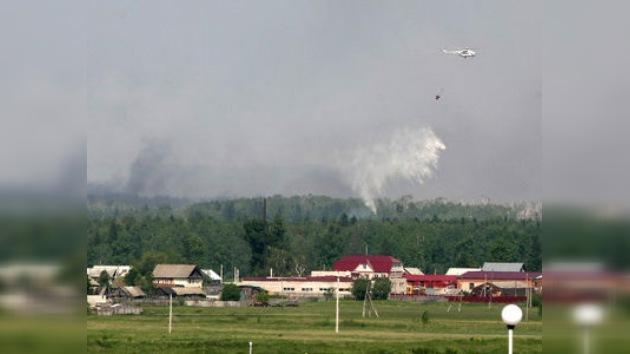El Ministerio de Defensa confirma la extinción del incendio del arsenal en Udmurtia