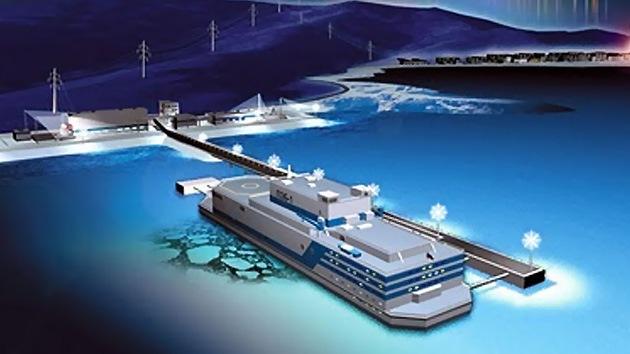 La primera central nuclear flotante del mundo comenzará a operar en Rusia en 2016