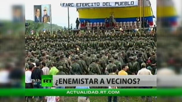 Quito y Caracas niegan las acusaciones sobre su relación con las FARC