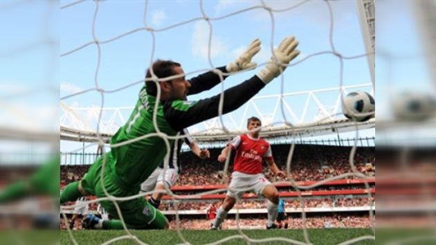 El Arsenal irreconocible en el partido con el West Bromvich