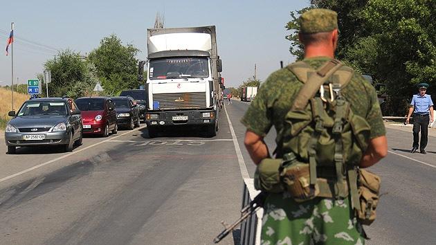 17 soldados ucranianos cruzaron la frontera y pasaron a Rusia