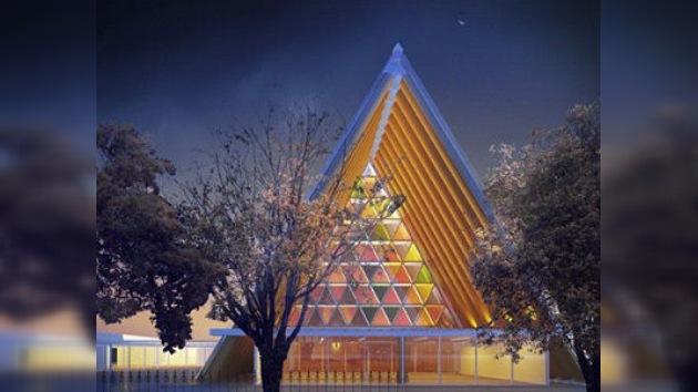 Nueva Zelanda construirá una catedral de cartón
