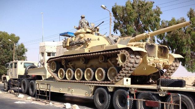 Egipto lanza la operación 'Tormenta del Desierto' contra extremistas en el Sinaí