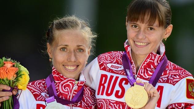 Londres 2012: dos rusas se llevan el oro y la plata en 20 kilómetros marcha