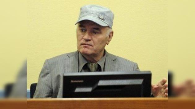 """Mladic califica de """"repugnantes y monstruosas"""" las acusaciones dirigidas contra él"""