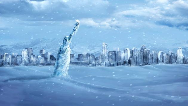 Los neoyorquinos, congelados tras el paso de Sandy