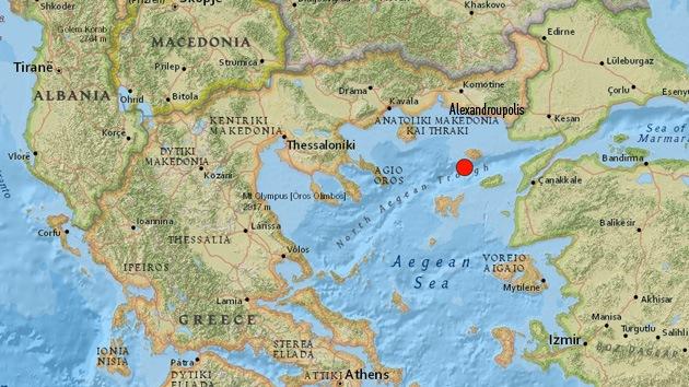 Un terremoto de magnitud 6,4 sacude Grecia y Turquía
