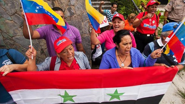 El planeta protesta contra la intervención en Siria