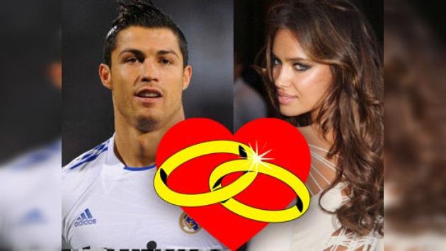 Cristiano Ronaldo e Irina Shayk podrían casarse en 2012 en Madeira