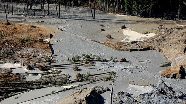 Un estudio de 1999 predijo el deslizamiento en Washington