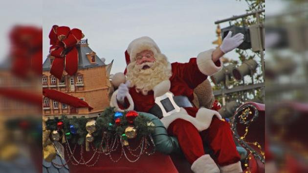 Los servicios de seguridad aéreos de EE.UU. siguen el viaje de Santa Claus