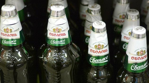 Rusia suspende la importación de alcohol de Ucrania