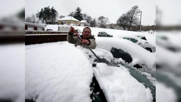 El invierno vuelve al Reino Unido en plena primavera