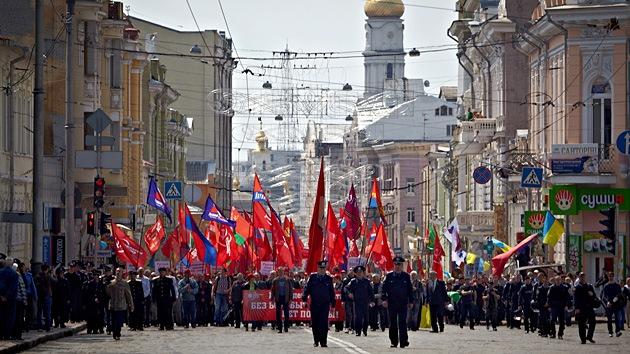 Járkov no celebrará el referéndum el 11 de mayo