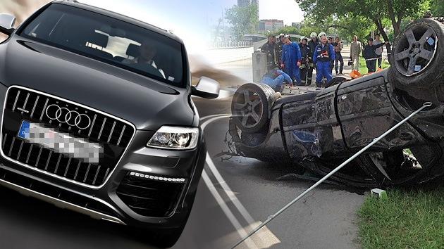 Roban un automóvil mientras el conductor rescataba a una mujer