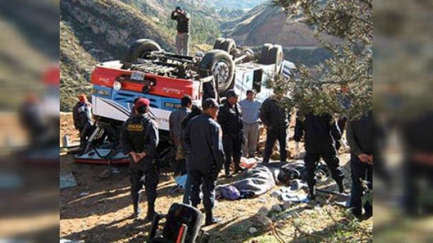 Al menos cuatro turistas mueren en accidente de tránsito en Perú