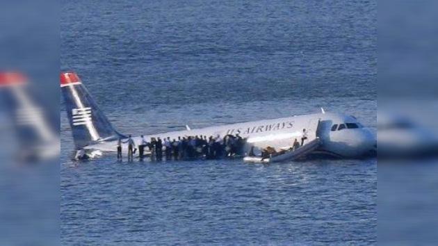 Sacan a subasta el avión del 'milagro del Hudson'