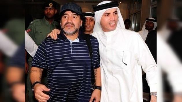 Maradona dirigirá un reconocido club de Dubai durante los próximos dos años