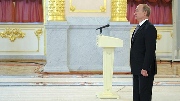 Putin: Hay que resolver los problemas de Medio Oriente sin injerencia extranjera