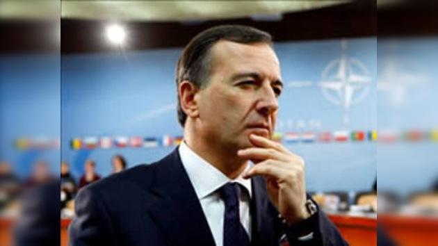 Italia apoya la 'presencia europea' en Irán