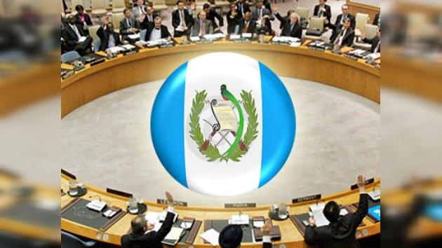 Guatemala ingresa en el Consejo de Seguridad de la ONU