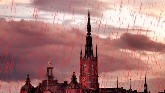 El Sáhara provocará una 'lluvia de sangre' en el norte de Europa