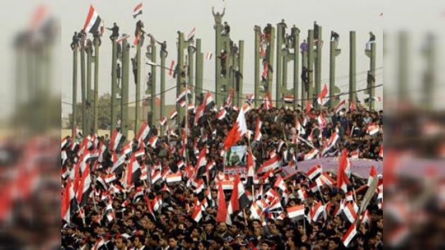 Miles celebran en Bagdad la salida de las tropas de EE. UU.