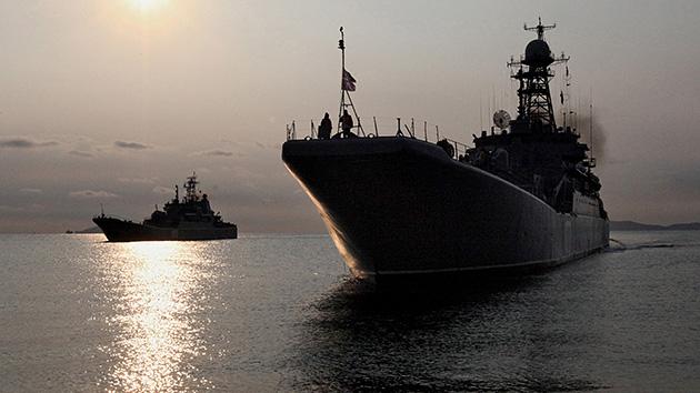 Rusia envió buques de guerra a la Franja de Gaza